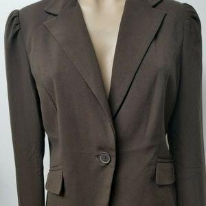 Old Navy Blazer Jacket Brown Size M